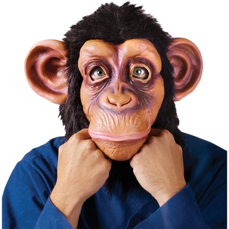 Morris Costumes Adult Unisex Bruno Mars The Lazy Song Comic Chimp Mask, Style FW8546CC