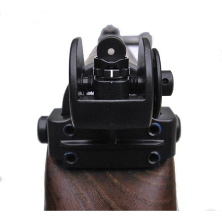 Tech Sight's TS200 adjustable aperture sight for the SKS Rifle steel