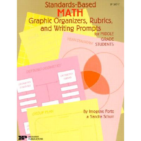 Standards-Based Math: Graphic Organizers, Rubrics, and Writing Prompts for Middle Grade
