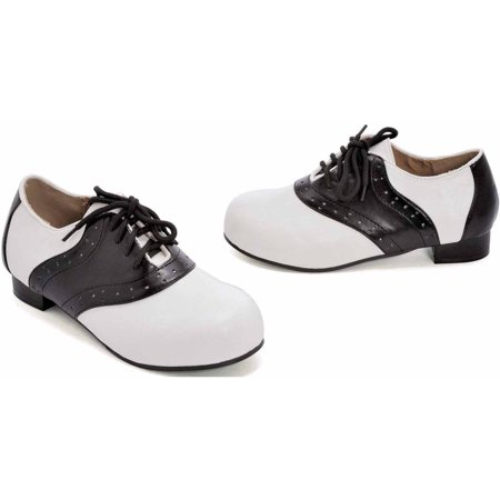 Saddle Black/White Shoes Girls' Child Halloween Costume Accessory - Halloween 110 Shoes