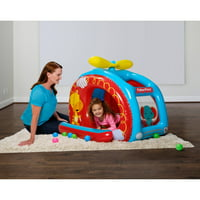 Deals on Fisher-Price 54-in x 44-in x 38-in Helicopter Ball Pit