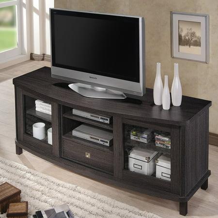 Baxton studio walda tv cabinet for Armoire television salon