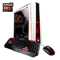 iBUYPOWER N27W8260EX2 - Gaming Desktop PC - AMD FX 6300 - 8GB DDR3 Memory - NVIDIA GeForce GTX 1050 2GB - 1TB Hard Drive - N27W8260EX2