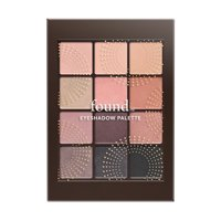 found 12 Piece Eyeshadow Palette with Bamboo and Rice Powder, 20 Blush, 0.23 fl oz
