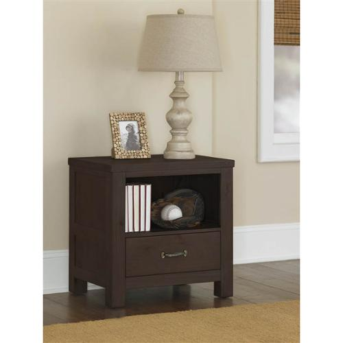 24 in. Night Stand in Espresso Finish