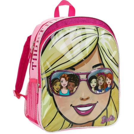 Barbie Backpack (Barbie Star Shine Kids School Backpack for Girls 16)