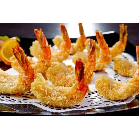 LAMINATED POSTER Appetizer Shrimp Restaurant Food Korean Cuisine Poster Print 24 x - Halloween Shrimp Appetizers