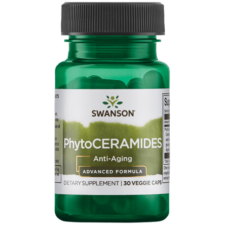 Swanson Phytoceramides - Advanced Formula 30 mg 30 Veg Caps (Phytoceramides Without Vitamins)
