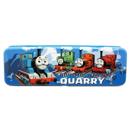 Thomas & Friends Blue Mountain Quarry Kids Tin Pencil Box