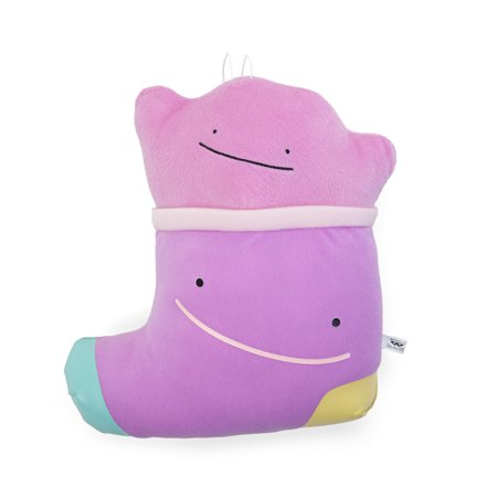 Pokemon Sun and Moon Ditto Stocking 10 inch Pokemikke Plush Toy