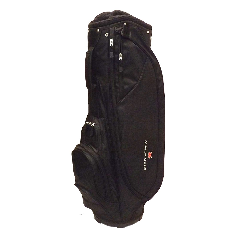 New Ergonomix Golf Pro K Bag 10-way Top Black Pick Cart or Stand! by Ergonomix