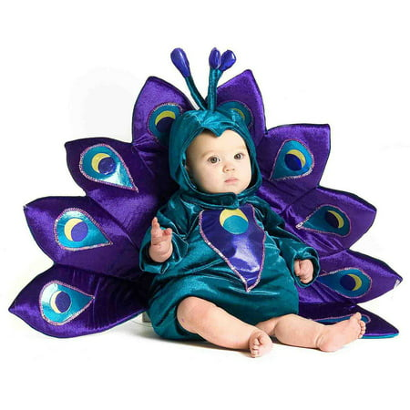 Baby Peacock Infant Halloween Costume - Cutest Halloween Costumes For Baby