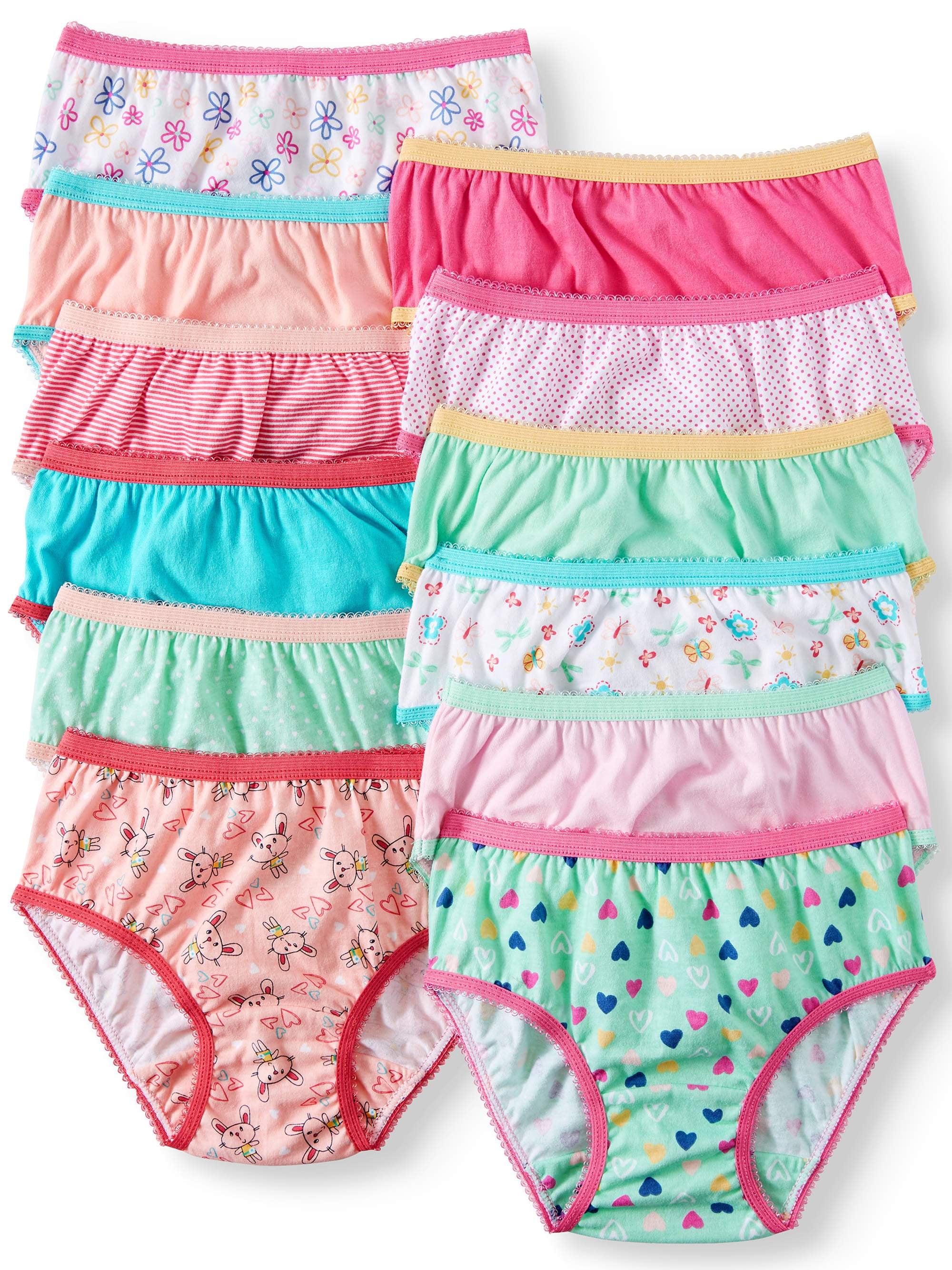 Cotton Brief Panties, 12-pack (Toddler Girls)
