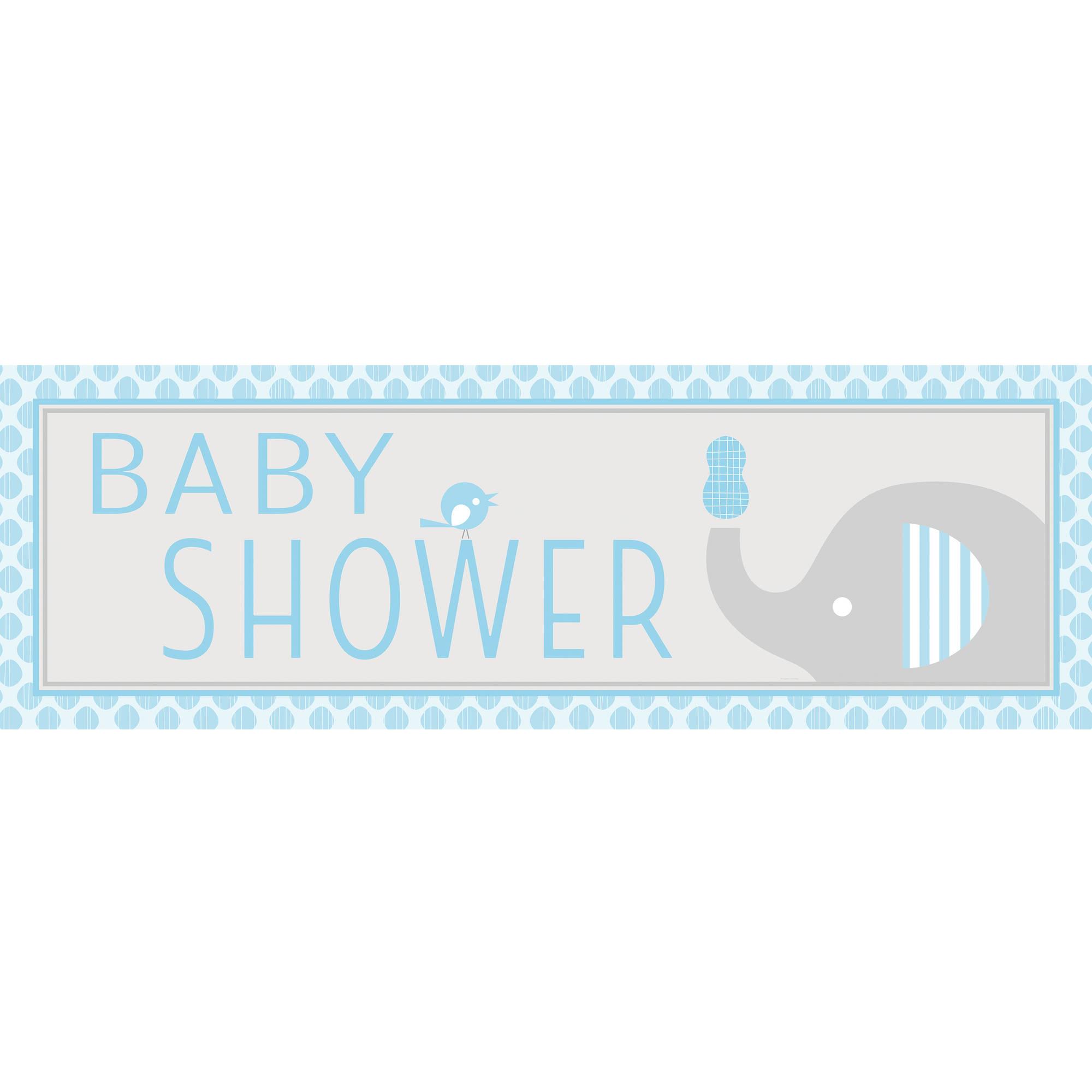 Little Peanut Boy Giant Baby Shower Banner Walmart Com