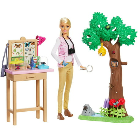Barbie National Geographic Entomologist Doll and Themed