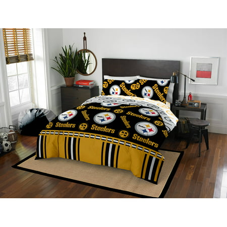 c8a82614c46 Pittsburgh Steelers Bed In Bag Set - Walmart.com