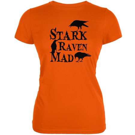 Raven Halloween (Halloween Stark Raven Mad Orange Juniors Soft)