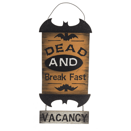 Dead And Break Fast Vacancy Halloween Sign - By ganz](Tino's Breaks Halloween)