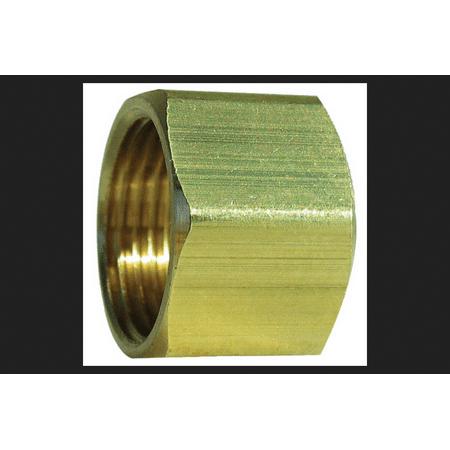 JMF 5/16 in. Dia. x 5/16 in. Dia. Brass Less than 0.25% Compression Nut