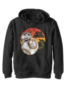 Star Wars The Last Jedi Boys' BB-8 Sunset Hoodie