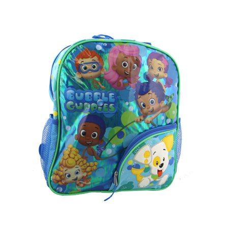 Bubble Guppies Boys Girls 14 Inch School Backpack B18BU38990 - Bubble Backpacks