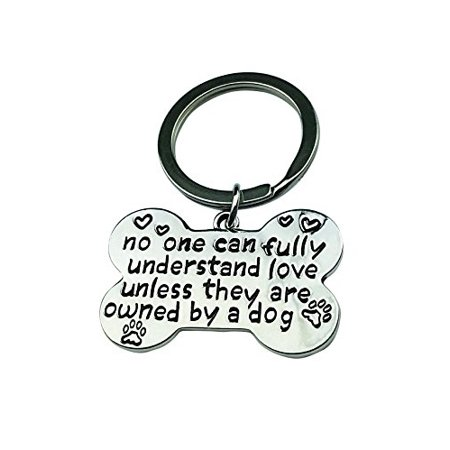 Art Attack Silvertone Owned By A Dog BFF Best Friends Animal Lover K9 Tag Collar Partners In Crime Bag Charm Pendant (Tag Ur Best Friend)