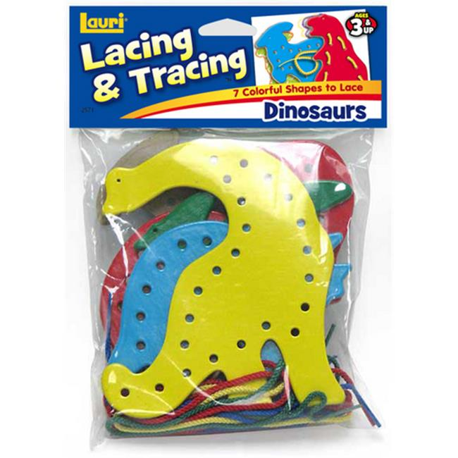 Patch Products 2571 Lacing & Tracing - Dinosaurs
