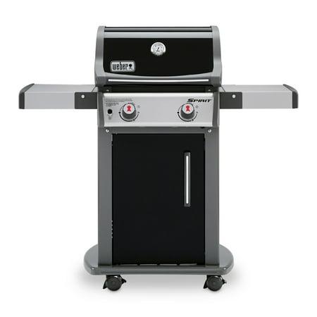 Weber Spirit E-210 2-Burner Gas Grill, Black