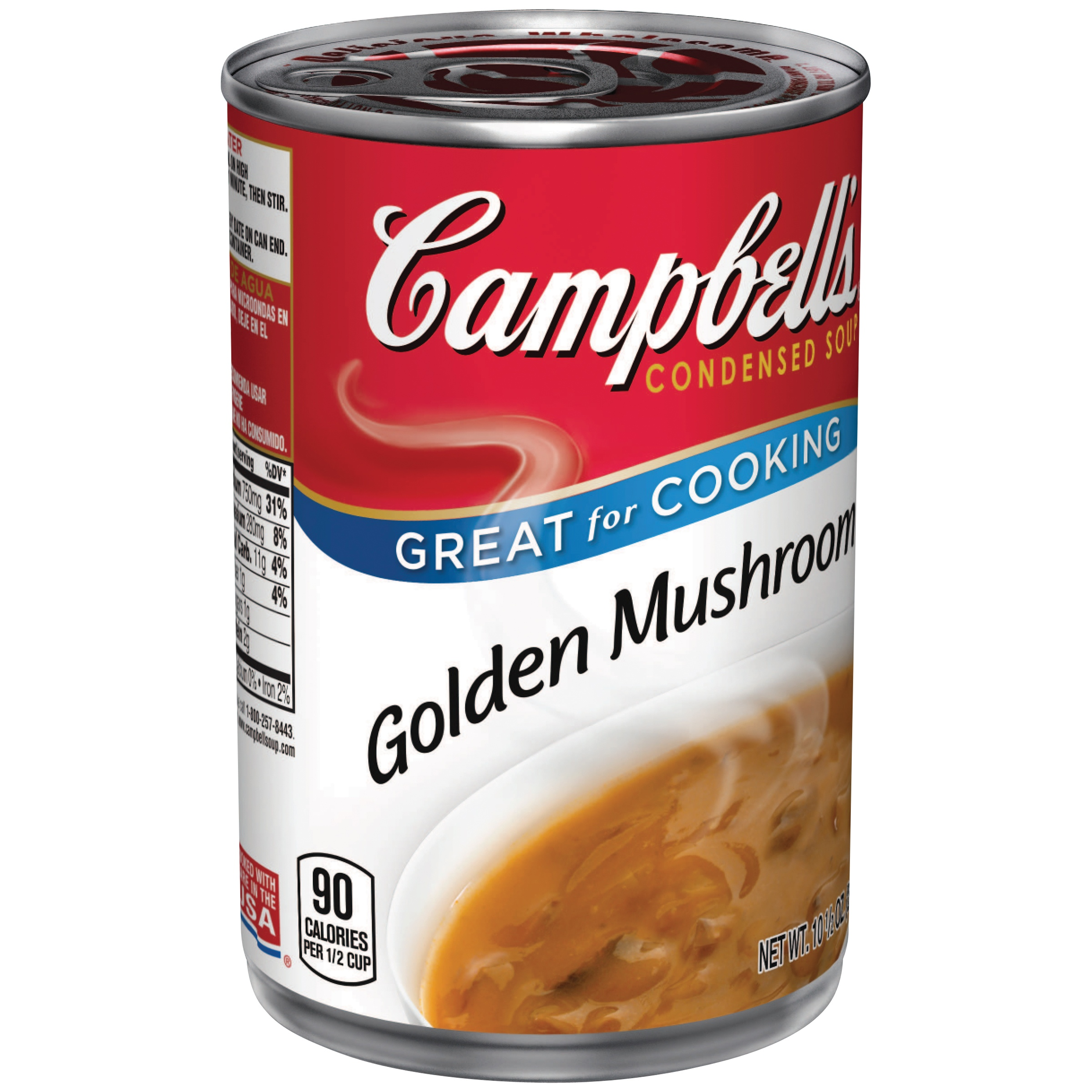 Campbell's Condensed Golden Mushroom Soup, 10.5 oz. by Campbell Soup Company