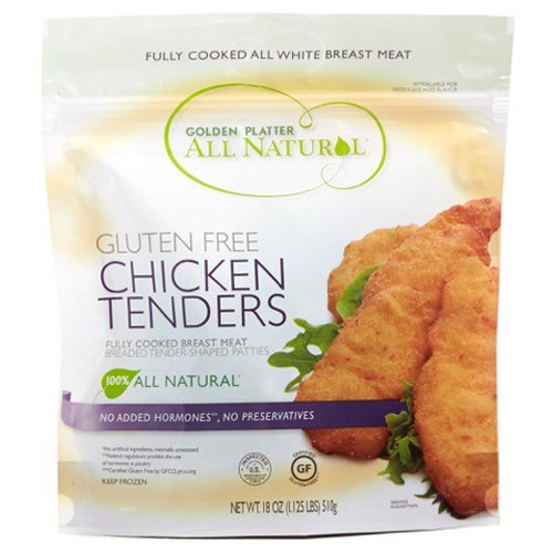 Golden Platter All Natural Chicken Tenders, 18 oz