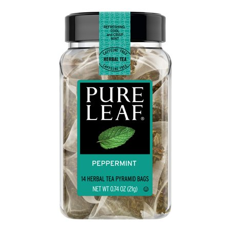 Pure Leaf Hot Herbal Tea Bags Peppermint 14 ct