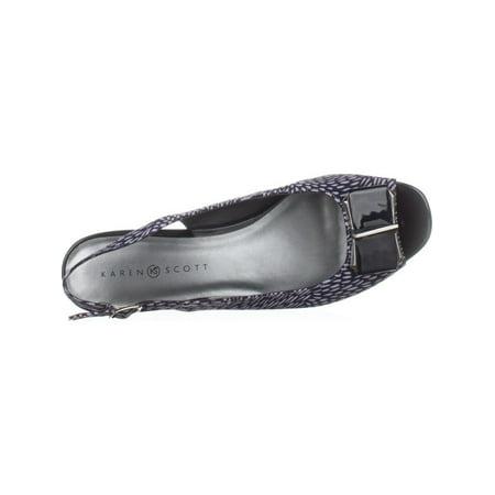 8bc290495f1 KS35 Inga Peep Toe Kitten Heels