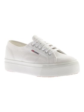 Superga 2790 Acotw Linea Up And Down White Ankle-High Canvas Sneaker - 6M / 4.5M