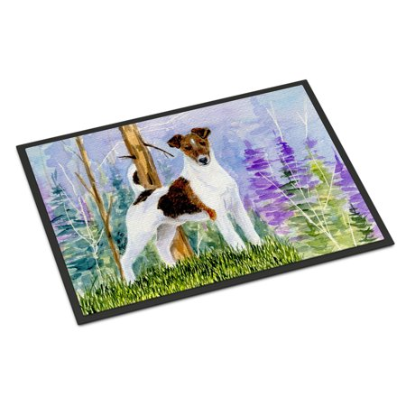 Jack Russell Terrier Indoor Outdoor Mat 18x27 Doormat
