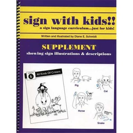 Sign With Kids - Supplement - Halloween Sign Language Vocabulary