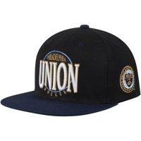 Philadelphia Union Mitchell & Ness On The Spot Snapback Adjustable Hat - Black/Navy - OSFA