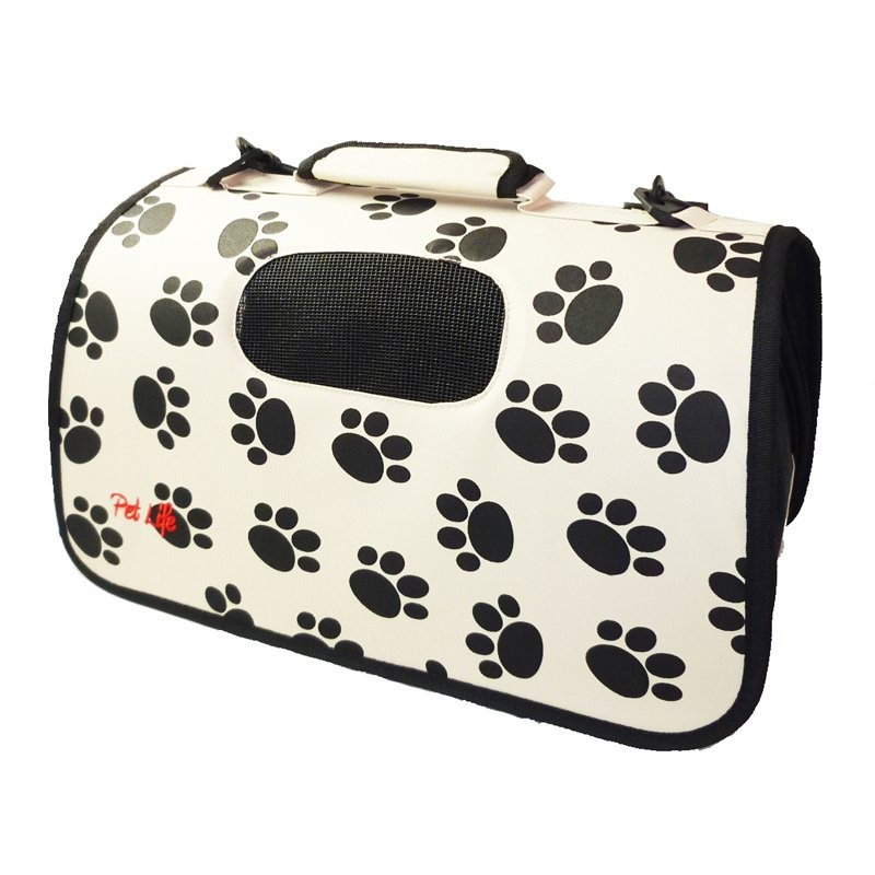 Airline Approved Folding Zippered Sporty Cage Pet Carrier by Pet Life
