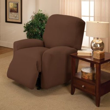 Madison Jersey Stretch Slipcover, Large Chair ()