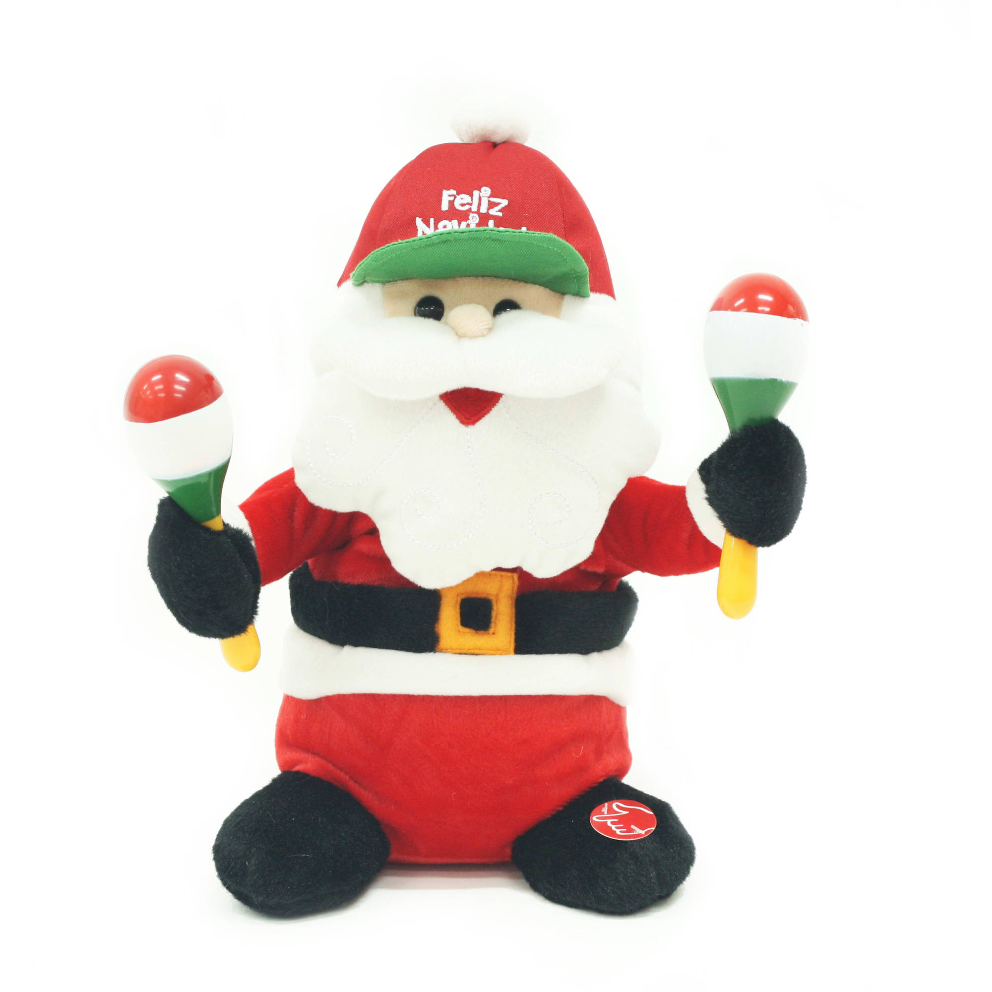"Holiday Time 10"" Singing And Animated Santa"