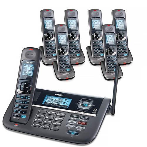 """""""Uniden DECT4086-7 DECT 6.0 2 Line Cordless Phone System"""" by Uniden"""