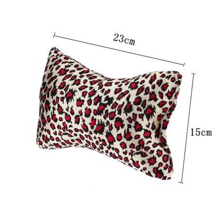 Nail Hand Arm Wrist Holder Cushion Bone Shape Leopard Printed Manicure Hand Rest Pillow Salon Beauty Tool Random Color - image 1 of 9