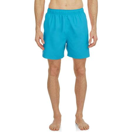 Faded Glory Men's Big Solid Swim trunks