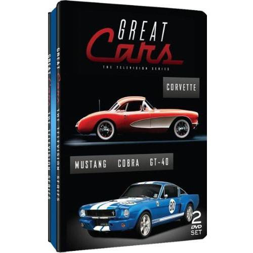 Great Cars: The Television Series - Mustang / Cobra / GT-40 / Corvette (Tin Packaging)