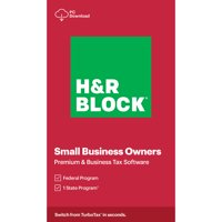 H&R Block 2020, Premium & Business, For PC, Download (Windows)