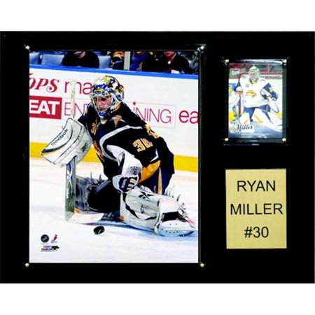 C & I Collectibles 1215RYANMILL LNH Ryan Miller des Sabres de Buffalo Player Plaque - image 1 de 1