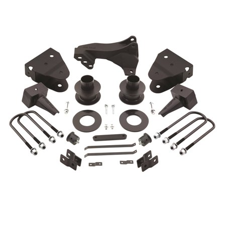 Pro Comp Suspension 62689K Level Lift Nitro Kit; Lift Height 3.5 Inch Front; 3 Inch Rear; Coil Spring Spacers; Lift Blocks w/U-Bolts; Includes Track Bar Drop Bracket;