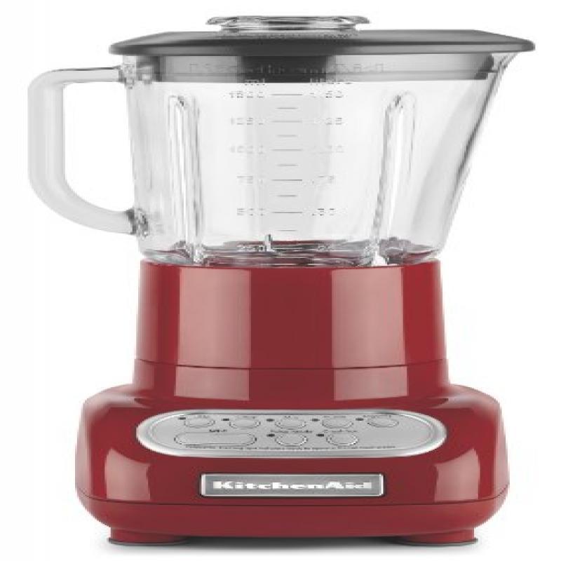 KitchenAid 5-Speed Blender with Glass Blender Jar, Empire...