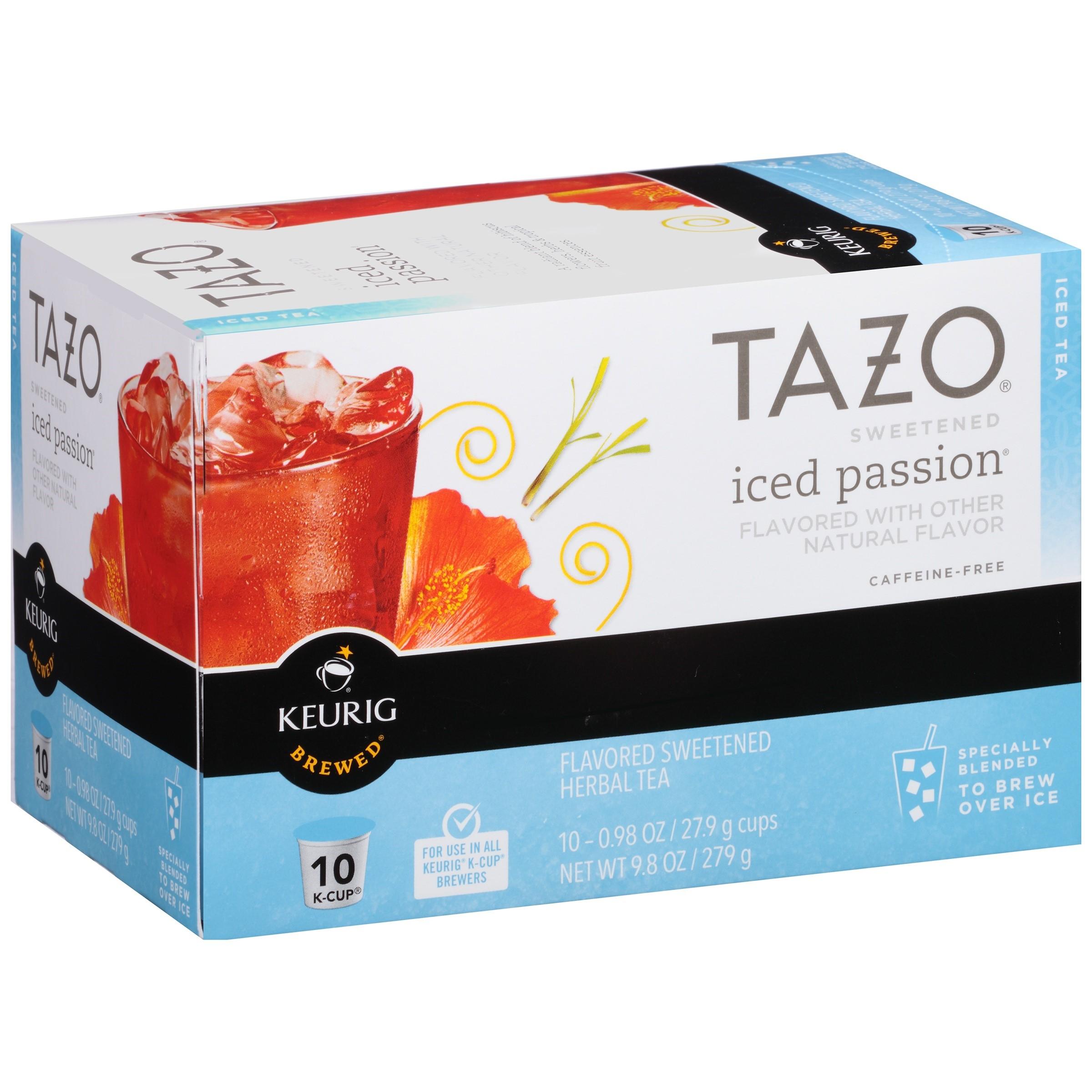 Tazo Sweetened Iced Passion Herbal Tea