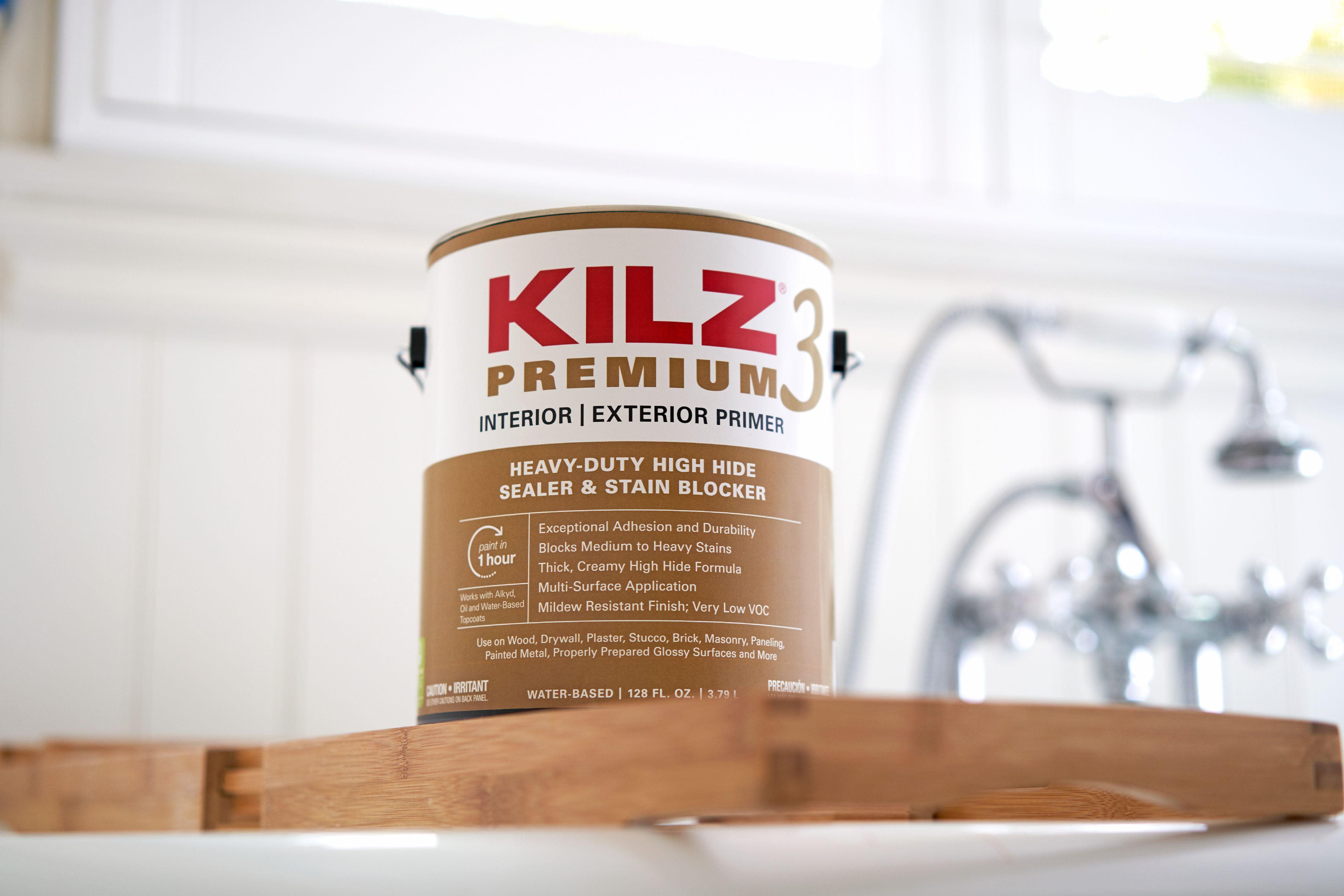 abfda54c9c KILZ 3 Premium Interior/Exterior Primer, Sealer & Stainblocker, White - New  Look, Same Trusted Formula - Walmart.com