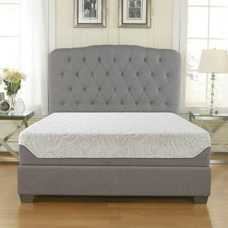 "Contura 10"" Medium Firm AirFlow Gel Memory Foam Mattress, Multiple Sizes"